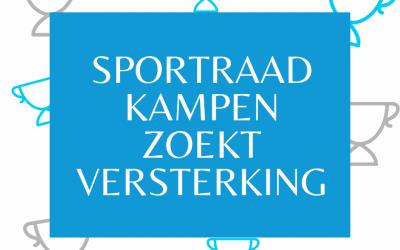 Sportraad Kampen zoekt versterking