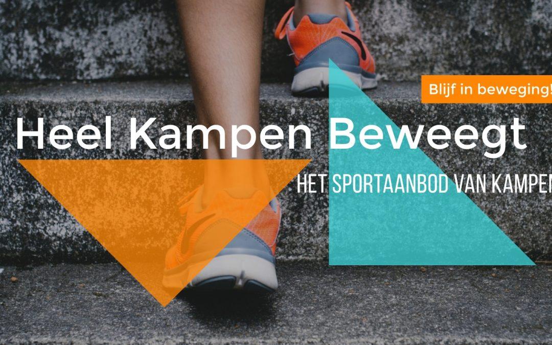 Sporten voor niet-leden wat zijn de mogelijkheden in Kampen